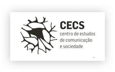 Logo CECS - Centro de Estudos de Comunicação e Sociedade