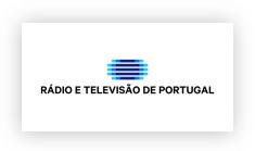 Logo RTP - Rádio e Televisão Portuguesa